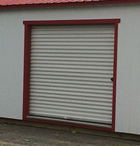8\u0027 x 7\u0027 Coil door $425 & Additional Options - The Shed Depot of NC
